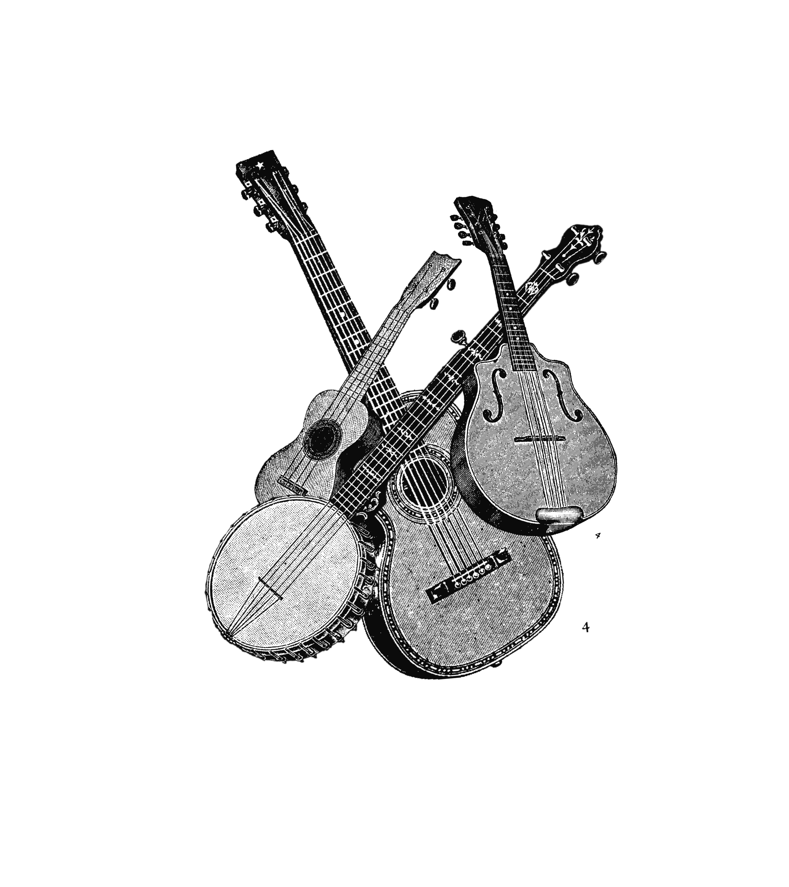 Leer banjo, mandoline of ukulele spelen